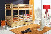 Solid Pine Double Bunk Beds