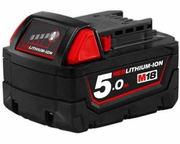 Milwaukee M18B5 Power Tool Batteries