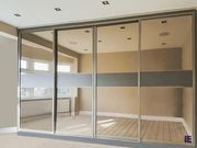 Linear Wood Fitted Wardrobes and Long Handle Wardrobe London
