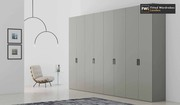 White Shaker Fitted Wardrobes | Bespoke Fitted Wardrobes London