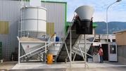 New SUMAB Autonomic concrete plant with credit card reader