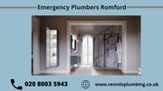 Plumbers Romford   Emergency Plumbing Romford – Call Now!