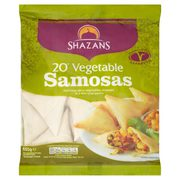 shazans vegetable samosas -asiansupermarket