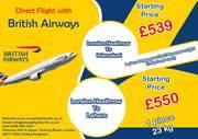 Direct Flight with British Airways