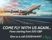 Cheap flights,  hotels & holidays from UK with PIA Flight