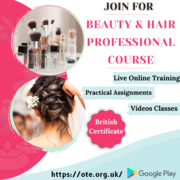 Join Beauty and Hair Professional Course Online