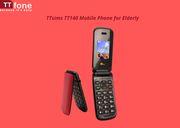 TTsims TT140 Big Button Flip Mobile Phone for Elderly