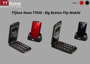 TTfone Nova TT650 - Mobile Phone with Big Button for Elderly