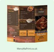 A6 Flyer A6 Leaflet &  Takeaway Printing  MenuMa Print