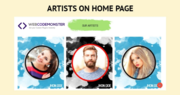 Artists WordPress Template